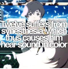 Anime facts zankyou no terror twelve