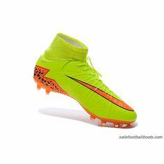 493c3057e Nike Hypervenom II Phantom Premium FG High Yellow Orange  106.99