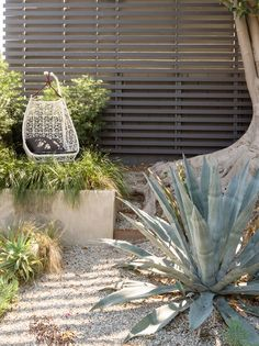 Superbe An Egg Swing From Patricia Urquiolau0027s Maia Collection For Kettal Sits In  The Garden. 段丘