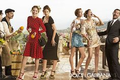 Dolce & Gabbana : Campagne printemps été 2014.