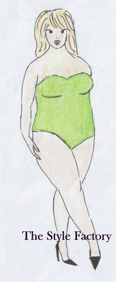 Body Type I (rectangle) Plus Size // thestylefactory.pl //
