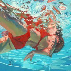 Gemalter Badespaß dank Samantha French   Art Armada