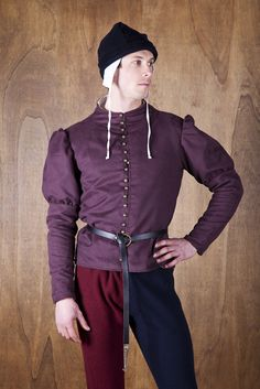 Farsetto As translated from Italian (somewhat amusing):  Doublet with a ham Channel | Blouses and Farsetti | Man | Narsilion