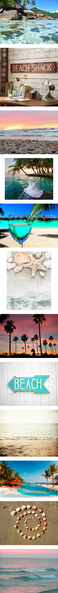 Beautiful Beaches by lip-gloss-lover on Polyvore featuring pictures, backgrounds, photos, blue, summer, beach, quotes, phrase, saying and text