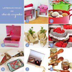 1. Panelinha de doces (do chá da Juliana): Lukka   2. Panelinha de brigadeiros: Give a Gift   3. Maletinha com ralador e sabonetes: Bru Puol...