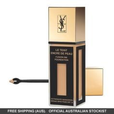Buy Yves Saint Laurent Fusion Ink Le Teint Encre De Peau Foundation from our Face Make-Up range at John Lewis. Ysl Foundation, Best Selling Foundation, Foundation Online, Foundation Application, Ysl Beauty, Beauty Makeup, Beauty Tips, Beauty Vanity, Makeup 101