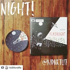 N E W . T H E M E ! ⭐️⭐️ . . It's a new KidArtLit theme week! This week are exploring all the concepts of Night with our guest judge…