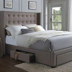 DG Casa Savoy Storage Platform Bed & Reviews | Wayfair