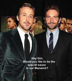 """From Douglas Reinhardt's """"Hey Girl"""" Ryan Gosling memes."""