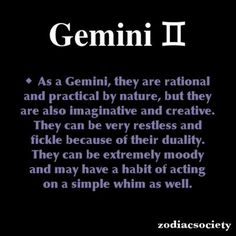 1000+ images about Gemini on Pinterest   Gemini, Gemini Facts and ...