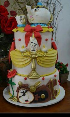 Bella y bestia cake