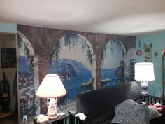 New wall mural 3 1/2 hour job