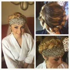 One of our brides, Ashley Ross. Hair and makeup by Beaute Speciale. #hair #makeup #beautespeciale #bride