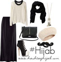Hashtag Hijab Outfit #33. Woooooow les escarpins Converses ``