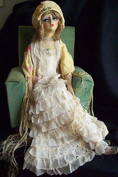 Tagged Gerling Boudoir Doll