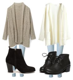 """""""We like the same person"""" by love1d101 ❤ liked on Polyvore featuring Frame Denim, Rebecca Minkoff and Nly Shoes"""