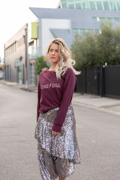 MILLY SWEATSHIRT Tie Dye Sweatshirt, Fashion Labels, Shop Now, Sequin Skirt, Campaign, Sweatshirts, Skirts, Shopping, Clothes