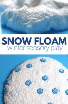 Learn how to turn a basic slime recipe into floam. This winter sensory activity is perfect for preschool and kindergarten.