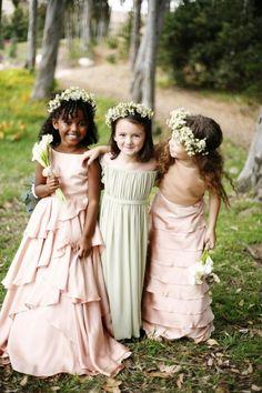 THE THREE NYMPHSWedding Flower Girl Fashion Inspiration
