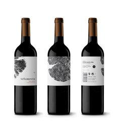 Gran trabajo el que hicimos con este trabajo serigráfico: Viñamonte - Brand identity & Wine Packaging - Development label  http://dailosperez.com/ http://bodegasvinamonte.com/