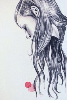 Esra Roise #Art #Drawing #Regram @esraroise