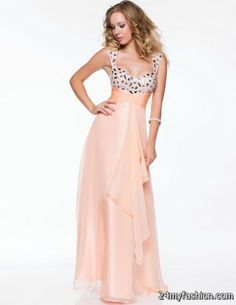 Prom dress by Nina Canacci style Hand beaded Bra friendly straps lead to  the glamorous rhinestone and bead embellished bodice. d5f897f7d891