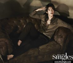 Kim Woo Bin - Singles Magazine March Issue '13