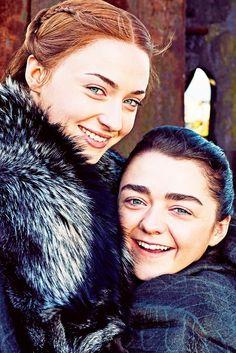 Sansa and Arya Stark | Game of Thrones Season 7