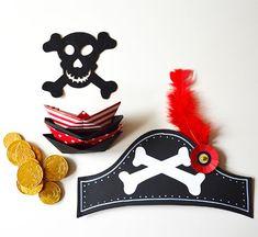 Zelf je eigen piratenhoed maken? Met deze instructie en download een klein piratenklusje. Kun je daarna weer een zeetocht maken.