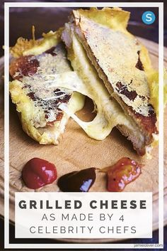 Make delicious grilled cheese sandwiches with these celebrity chef recipes! http://simplemost.com/how-celebrity-chefs-make-their-grilled-cheese-sandwiches?utm_campaign=social-account&utm_source=pinterest.com&utm_medium=organic&utm_content=pin-description