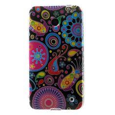 for Nokia Lumia 630 Pretty Roses Glossy TPU Case for Nokia Lumia 630 / 630 Dual SIM