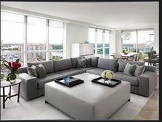 Great color. Prefer in two separate couches. Looking for big furniture that still has a modern feel.