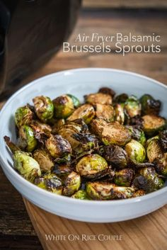 Crispy Air Fryer Brussels Sprouts With Little Oil Best . Healthy Fried Brussel Sprouts Recipe Made In An Air Fryer . Air Frier Recipes, Air Fryer Oven Recipes, Air Fryer Dinner Recipes, Air Fryer Recipes Brussel Sprouts, Fried Brussel Sprouts, Brussels Sprouts, Roasted Sprouts, Balsamic Brussel Sprouts, Air Fryer Recipes Vegetables