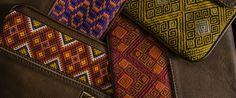 Los bolsos de  MARIA y MARIA reflejan los colores, texturas de extraordinarias culturas latinoamericanas.