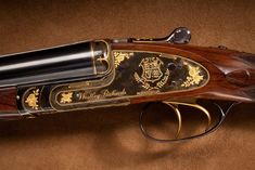 Made for the 1981 nuptials of Lady Diana Spencer and HRH Prince Charles, this Westley Richards & Co. Winchester, Side By Side Shotgun, Varmint Hunting, Firearms, Shotguns, Double Barrel, Shooting Guns, Lady Diana Spencer, Sports Pictures