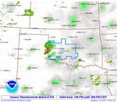 SPC Severe Thunderstorm Watch 479 Status Reports - http://blog.clairepeetz.com/spc-severe-thunderstorm-watch-479-status-reports/