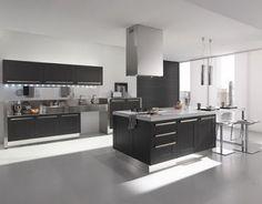 Mi Casa....Mi Hogar: Cocinas Modernas en Blanco y Negro