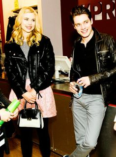 Christian; Lissa; Vampire Academy; Dominic Sherwood; Lucy Fry;