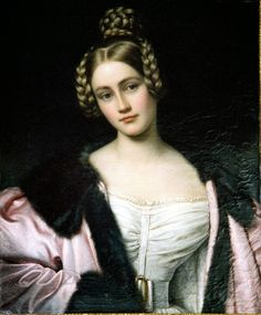 Joseph Karl Stieler - Caroline, Countess of Holnstein