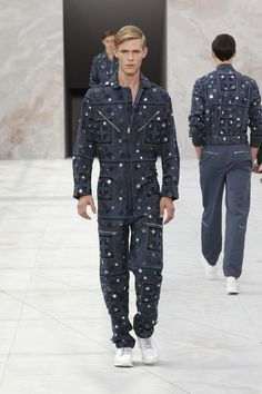 Look 30 from the Louis Vuitton Men's Spring/Summer 2015 Fashion Show. sorry nina i disagree