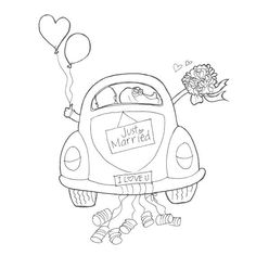 Just married Just married Just married The post Just married appeared first on Hochzeitsgeschenk ideen. Just married Just married Just married The post Just married appeared first on Hochzeitsgeschenk ideen. Colouring Pages, Coloring Books, Wedding Cards, Wedding Gifts, Just Married Car, Wedding Activities, Digi Stamps, Diy Cards, Craft Gifts