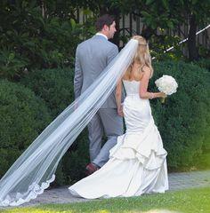 I love Kristin Cavallari's long veil!