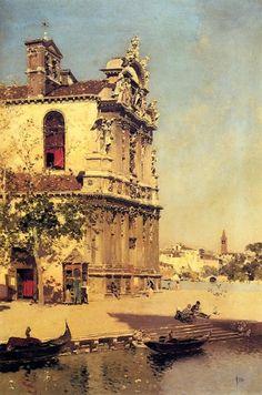 Martin Rico y Ortega - A View Of Venice