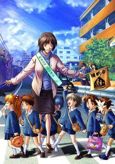 e-shuushuu kawaii and moe anime image board Neon Genesis Evangelion, Evangelion 01, Lagann Gurren, Hideaki Anno, Asuka Langley Soryu, Rei Ayanami, Mecha Anime, Fanarts Anime, Comic Games