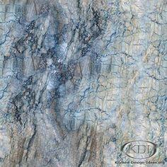 Mediterranean Blue Quartzite - from Kitchen-Design-Ideas.org