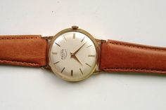 AUCTION ENDING TONIGHT FROM 8pm NEW AUCTIONS STARTING FROM 8.30pm... MENS VINTAGE ENICAR ULTRASONIC SWISS MADE GOLD PLATED WATCH
