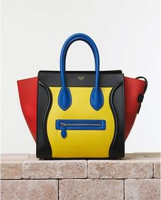 Celine luggage tote bags summer 2014 collection