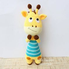 Here comes a giraffe who loves to play boxing during her free time!  Isnt she cute? Lets bring her back instead!  . Crochet pattern is available in all my shops. Etsy link in profile.  . #giraffe #crochet #amigurumi #crochetpattern #lovecrochet #crochetlove #amigurumipattern #etsy #etsyshop #ravelry #weamiguru  #crochetlover #wearecraftcount #crochetaddict #crochetdoll #amigurumidoll #instacrochet #littlebamboohandmade  #benangkait #ganchillo #ganxet #uncinetto #編みぐるみ #haken #амигуруми #вя