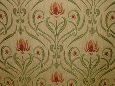 Art Nouveau Tiffany Design Fabric