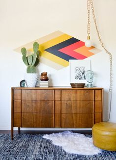 Great #MidCentury Modern #color inspiration using the Sherwin Williams #ChipIt tool. | vintagerevivals.com